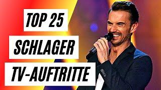 Die besten 25 SCHLAGER TV Auftritte ❤ Schlager für alle