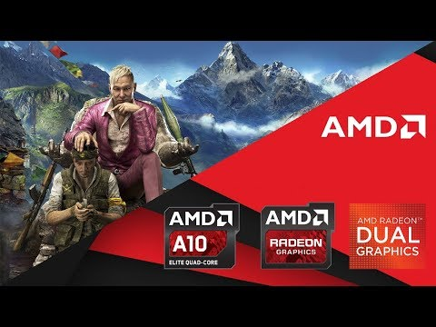 Far Cry 4 Gameplay     Low End PC    AMD A10-9600p + Radeon R7 M340    Benchmark & Tweak