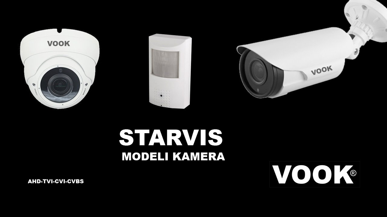 Starvis usporedni test kamera - YouTube