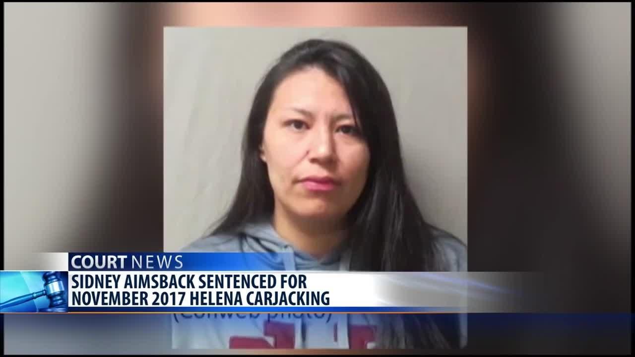 Aimsback Sentenced For Carjacking Krtv Com