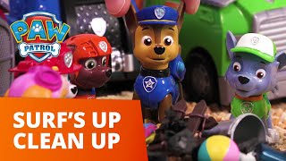 PAW Patrol | Surf's Up Clean UP | Toy Episode | PAW Patrol Official & Friends
