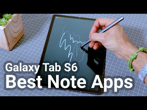 Best Note Taking Apps For The Samsung Galaxy Tab S6