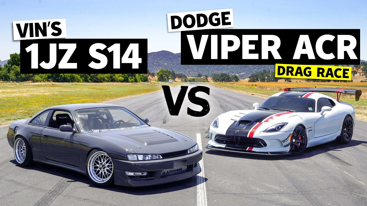 Can a 1JZ Swapped 240sx Beat a Dodge Viper ACR?