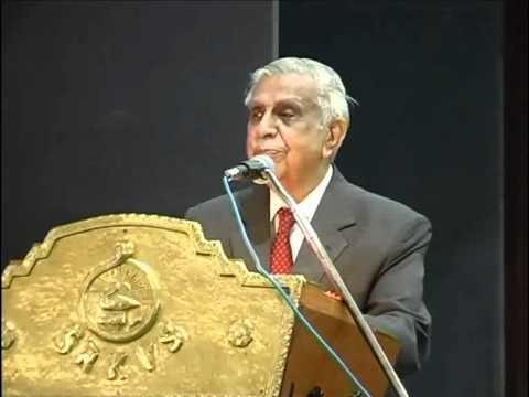 Justice Shri M N Venkatachalliah Speech.
