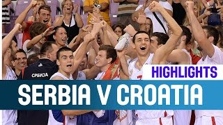 Serbia v Croatia- Highlights -- Bronze Medal Game -2014 U20 European Championship