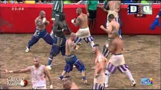 [HD] Calcio Storico 2014 -  Azzurri-Bianchi