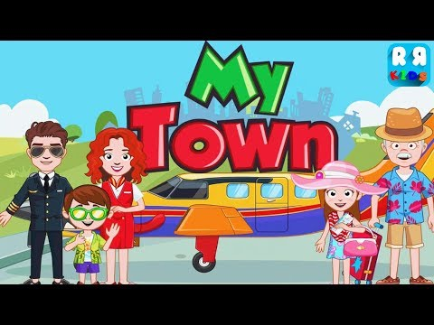 My Town : Airport (by My Town Games LTD) - Fly & Travel My Town Airlines | New Best App for Kids
