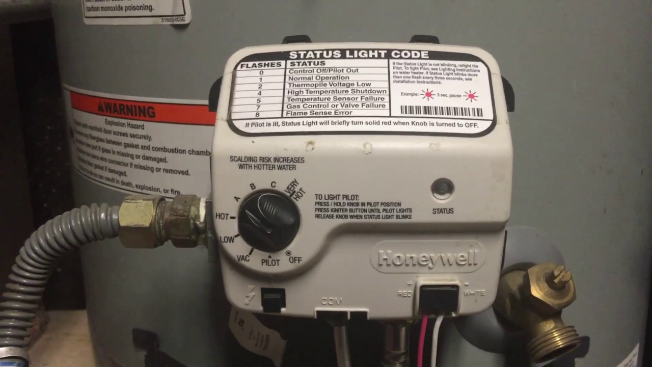 Natural Gas Heater Valve