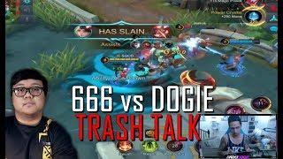 DOGIE vs 666 ANON TRASH TALK - MOBILE LEGENDS - 1000 DIAMONDS GIVEAWAY - RANK - LUNOX - GAMEPLAY