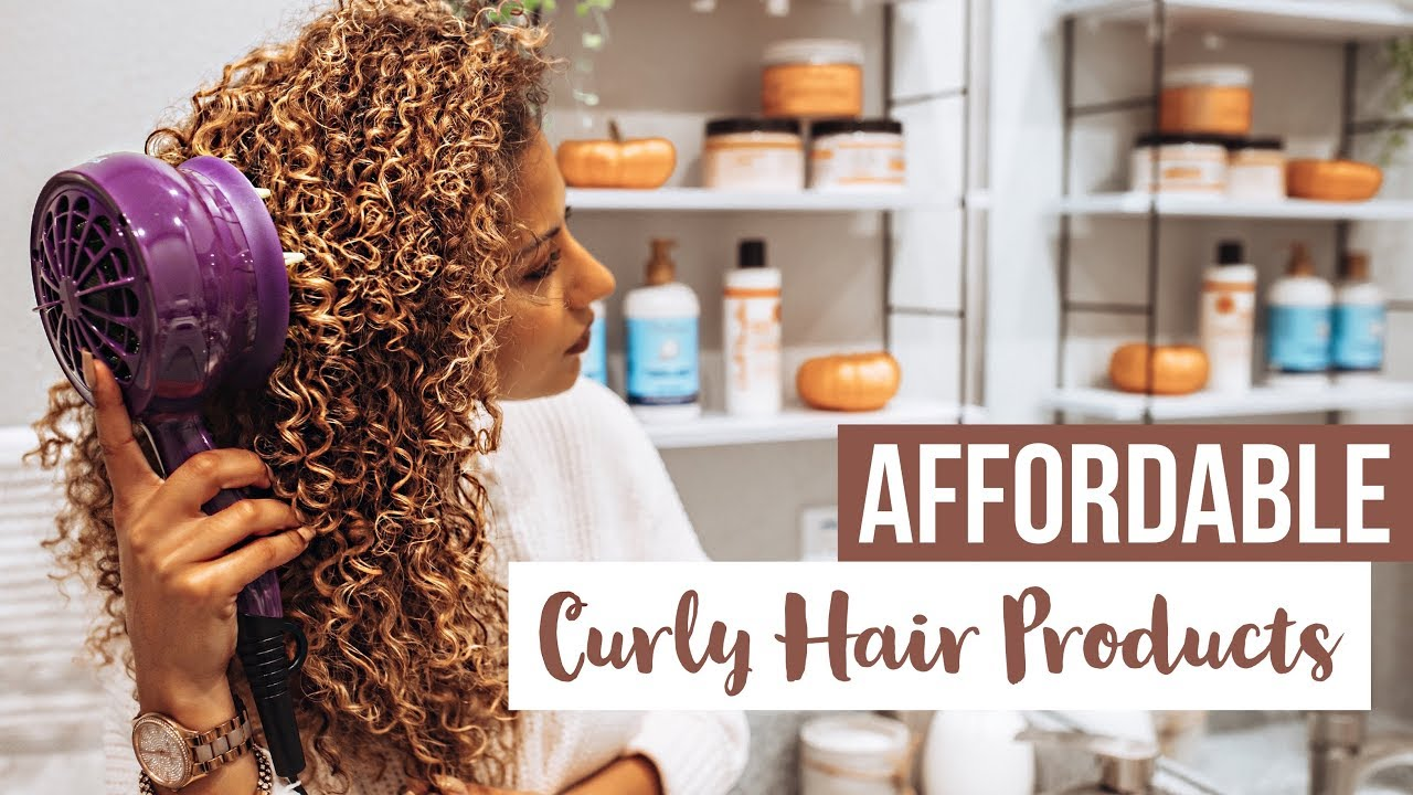 Curly Girl Friendly AFFORDABLE Fall Hair Products   Walmart