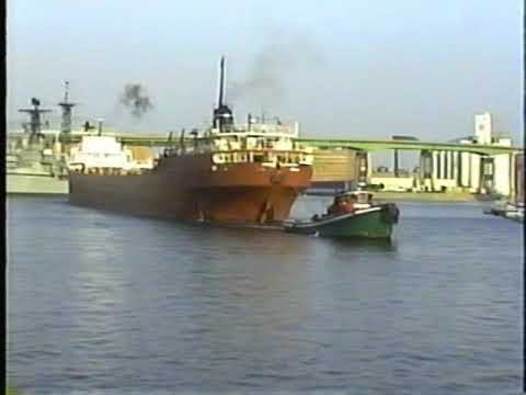Freighters, passenger ships, & trains in Buffalo 2001