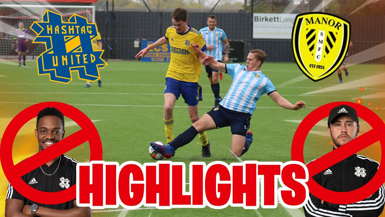 WHERE HAS EVERYBODY GONE?? - HASHTAG UNITED vs SOUTHEND MANOR HIGHLIGHTS