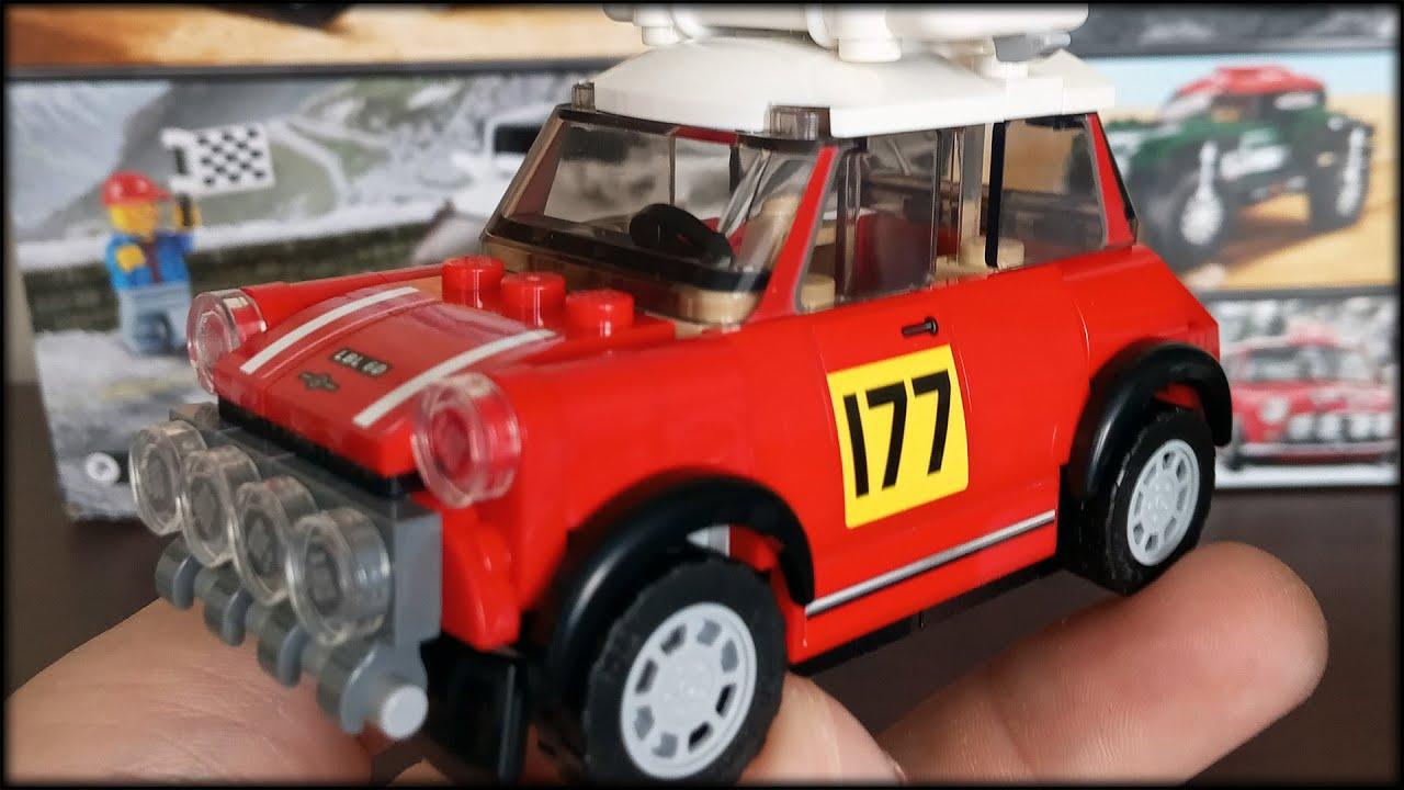 Милый Lego MiniCooper / Обзор Лего 75894