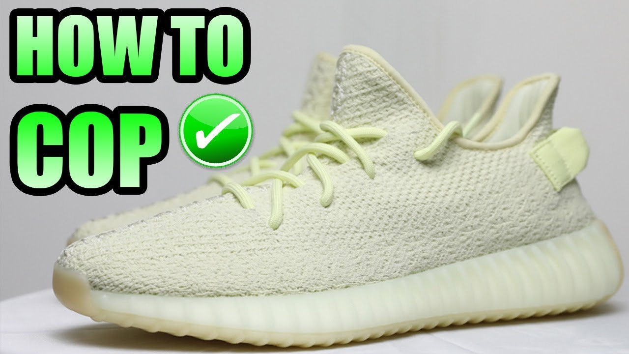 best service 92787 1609b How To Get The YEEZY 350 V2 BUTTER ! | Yeezy 350 Butter Release Info !