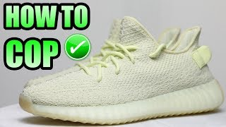 How To Get The YEEZY 350 V2 BUTTER ! | Yeezy 350 Butter Release Info !