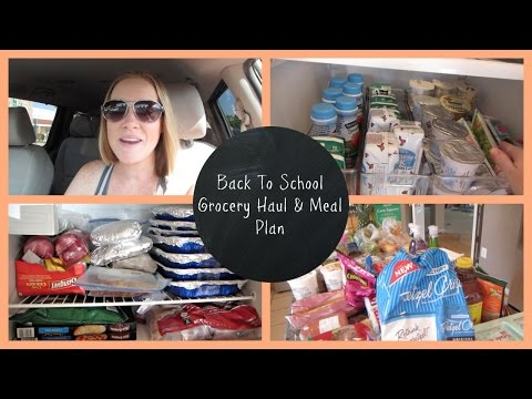 Back To School Grocery Haul | Wegmans and Costco