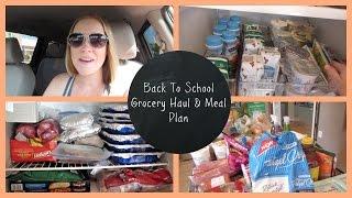 Back To School Grocery Haul   Wegmans and Costco