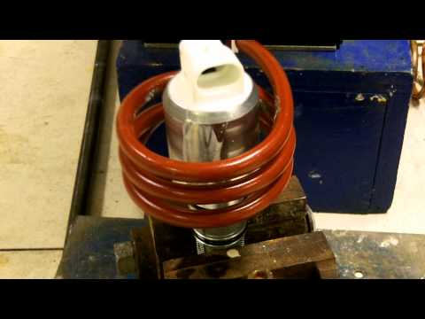 Heating a Steel Valve for Epoxy Curing
