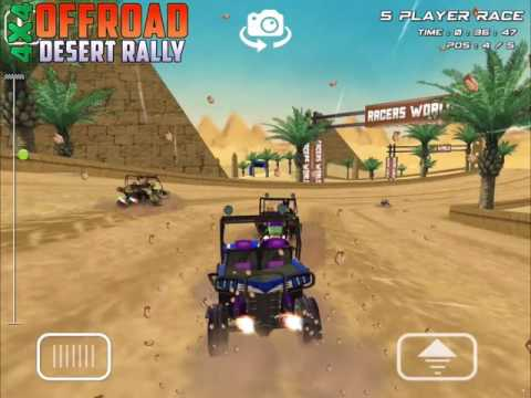 Offroad Drive Desert Smart Phone Game For Android Ios And