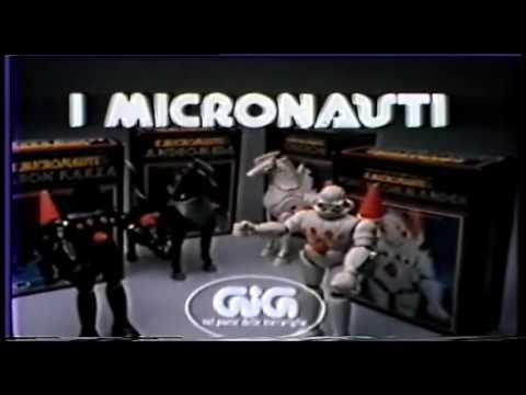 Pubblicità Spot TV Micronauti Linea GIG 1978 Force Commander, Baron Karza, Oberon e Andromeda