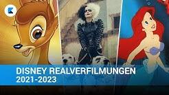 DISNEY Realverfilmungen 2021-2023