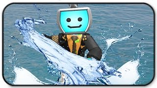 Roblox Elemental Battlegrounds - Water Element Gameplay - Water Everywhere But Nothing To Drink