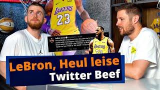 LeBrons Kritik an NBA & Adam Silver | Hat er Recht? | SHOTS FIRED