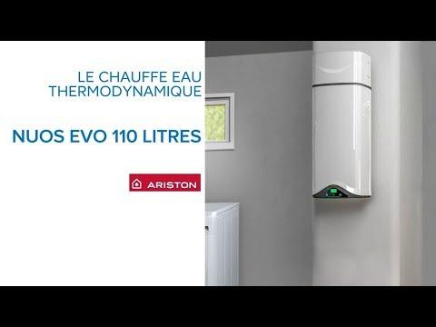 Chauffe Eau Thermodynamique Nuos Evo 110 Litres Ariston