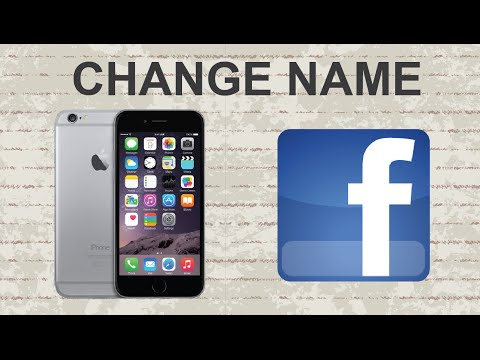 How To Change Your Name On Facebook Mobile App