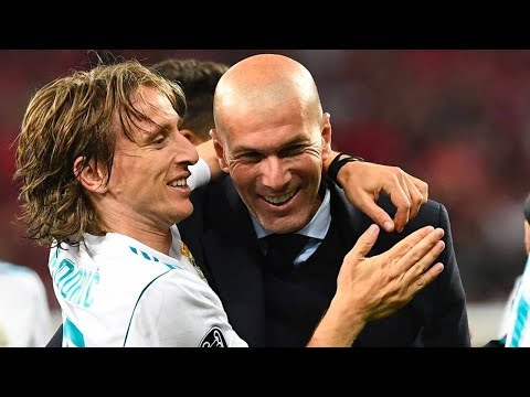 The secret conversation between Zidane and Modric in January 2016 - Oh My Goal