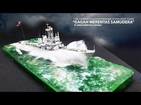 How to make Water Resin diorama