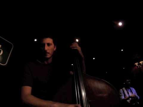 Daniele Sorrentino bass solo live at Praga w/ Rocco Zifarelli trio