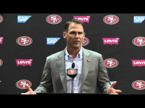 Trent Baalke Discusses 49ers Round 1 Draft Selections