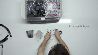 Déballage du Basic unité de lavage automatique - Melasty®