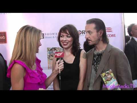 Michelle Tomlinson  Dave Reda of 'My Undeadly' at the 7th Hollyshorts 2011 Film Festival