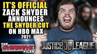 Zack Snyder's Justice League Hitting Hbo Max 2021 | Live