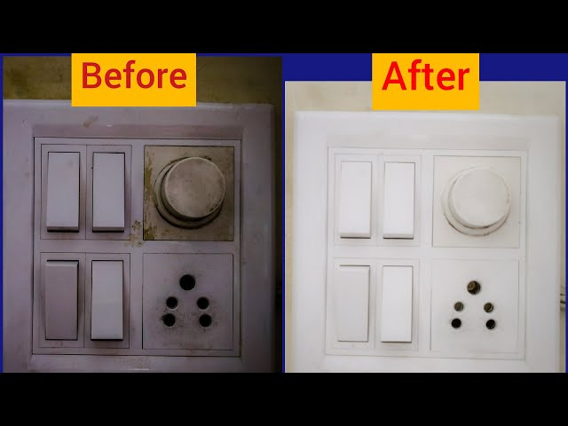 Switch Board ?? ??? ???? ????? 5 ????? ????How to Clean Switch Board?Tips Theatre|