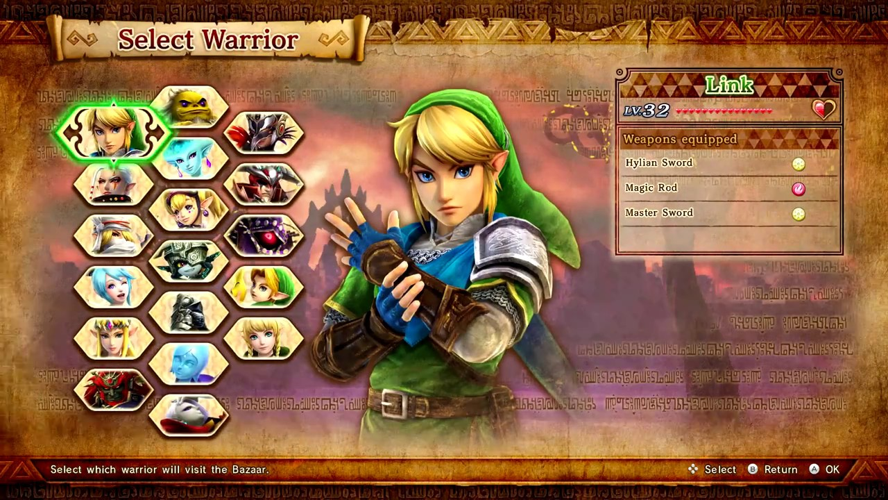 Hyrule Warriors Definitive Edition Fusing Weapons At The Smithy Switch Youtube
