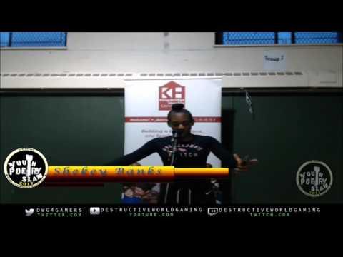 Bronx Youth Poetry Slam 2017 Shekey Banks