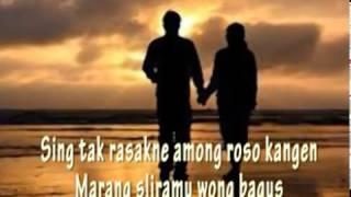 Video Lyric-amung roso kangen-nur bayan download MP3, 3GP, MP4, WEBM, AVI, FLV Maret 2018