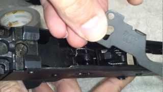Install Tapco retaining plate