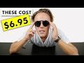 Black On Black Retro Flip Sunglasses Review | AliExpress