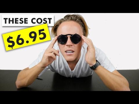 Black On Black Retro Flip Sunglasses Review   AliExpress