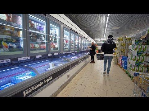 Finnish Grocery Store // Helsinki Supermarket