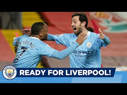 FACE OF CITY LIVERPOOL.  EXCITED?  |  Man City goes to Anfield in the Premier League!