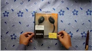 SONY MDR G45 LP NECKBAND HEADPHONE UNBOXING