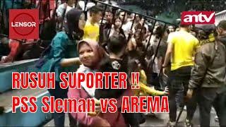 Download Video Rusuh !!! Laga Pembuka Liga 1 PSS Sleman vs Arema MP3 3GP MP4