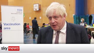 Johnson admits UK is seeing 'high levels' of COVID infections
