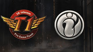 SKT vs IG | Group Stage | 2019 Mid-Season Invitational | SK telecom T1 vs. Invictus Gaming