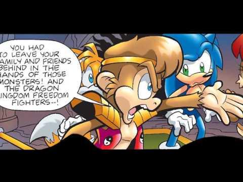 Sonic Universe #16 Comic Drama